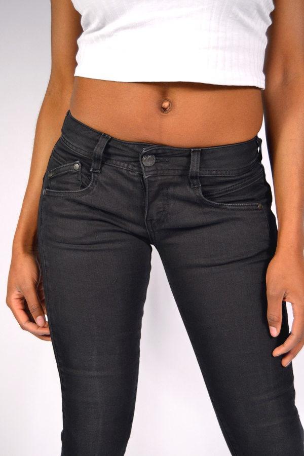 herrlicher gila slim jeans db840 tempest black 99 90. Black Bedroom Furniture Sets. Home Design Ideas
