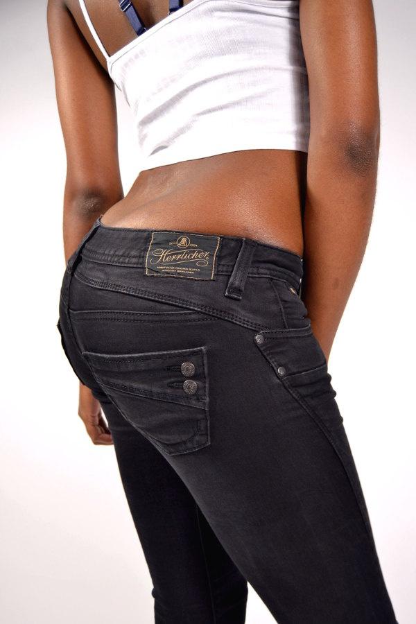c35c0707d336 Herrlicher Jeans PIPER Slim DB840 Tempest Black, 109,95 €