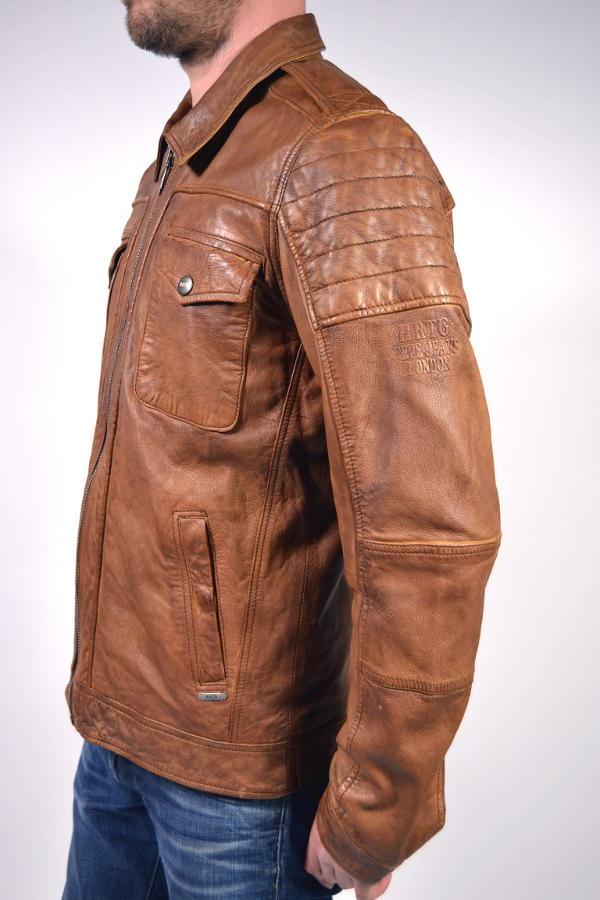 Nur Jeans Lederjacke