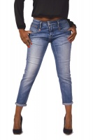 Herrlicher Jeans SHYRA Cropped Organic Faded Blue