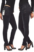 Herrlicher PITCH SLIM Jeans 5303 Re-used Crow Black