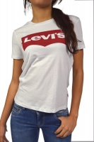 Levis® Ladies Batwing T-Shirt Graphic White