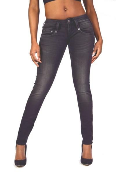 herrlicher jeans pitch slim 5303 db673 tribute black 119. Black Bedroom Furniture Sets. Home Design Ideas