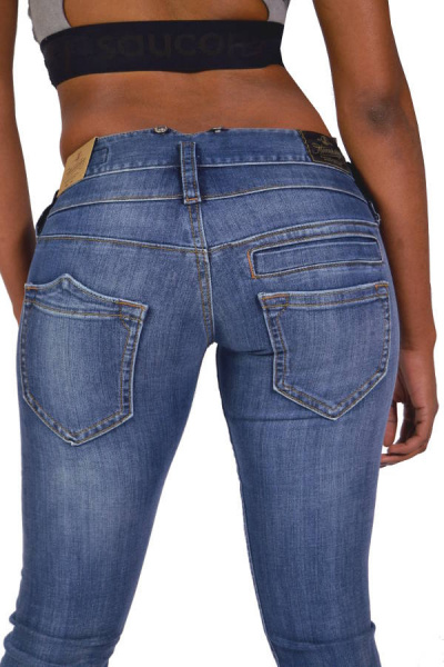 Herrlicher Jeans PITCH Straight 5003 D9666 Denim Soul