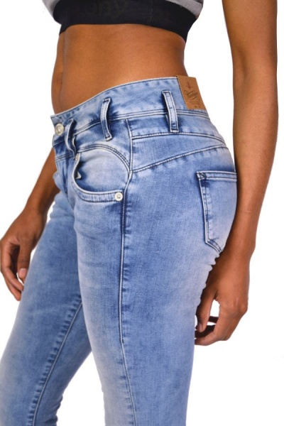 Herrlicher Jeans PEARL Slim D9668 Pearl River