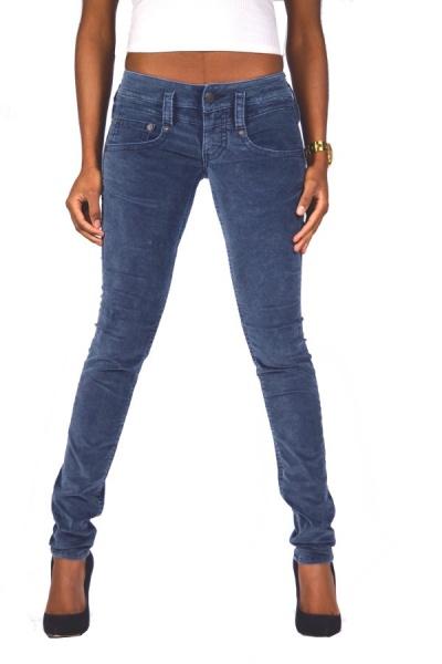 blau Herrlicher Touch 5705 D9668 Slim Jeans W25,27 L32