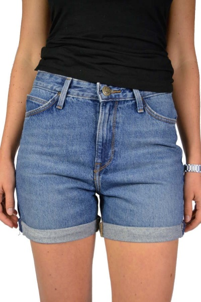 Lee Jeans Short MOM L37MGAQG Get Blue