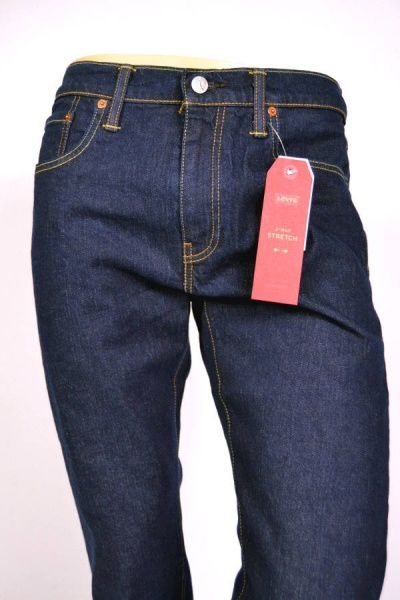 Levis® 502 Jeans Regular Tapered Rinsed Chain
