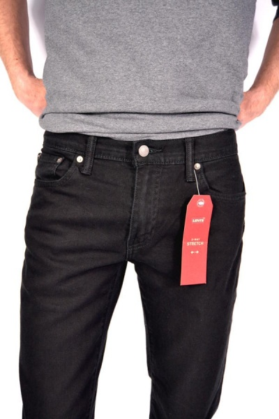 Levis® 511 Jeans Nightshine Black Low Slim Fit