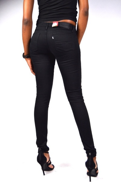 Levis® Jeans 711 Mid Rise Skinny Black Sheep