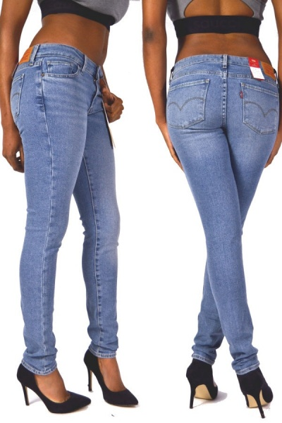 Levis® Jeans 711 Mid Rise Skinny Miles To Go
