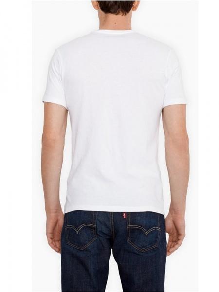 levi 39 s t shirt weiss 2er pack 29 90. Black Bedroom Furniture Sets. Home Design Ideas