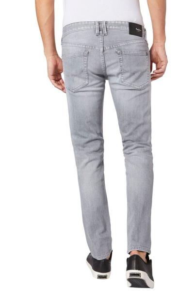PEPE Jeans HATCH WD2 Dunkelgrau Low Waist Slim Fit Röhrenjeans NEU