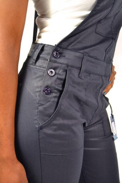 pepe jeans olivia latzhose ink blue 84 90. Black Bedroom Furniture Sets. Home Design Ideas
